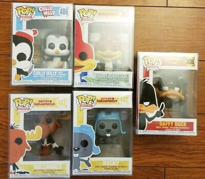 Funko Pop Animation Lot Mint Condition With Protectors