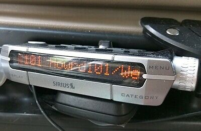 ACTIVATED Xact XTR3 SIRIUS Radio RECEIVER ONLY Howard 184 channels
