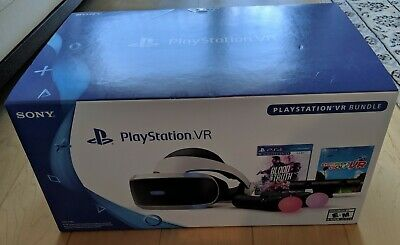 Sony PlayStation VR PSVR - Bundle Camera Two Move Controllers w/ Demo 3 NO Games