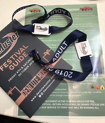 2019 DENI UTE MUSTER 2 x ADULT TICKETS - SOLD OUT EVENT
