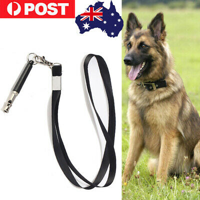 Dog Training Whistle Control Bark Stop Barking Deterrent to Pet