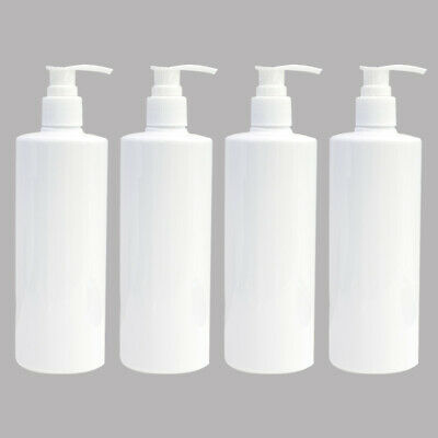 400ML Large Cosmetic Bottles Shampoo Empty Lotion Container Pressed Pump Bottle