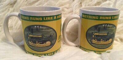 Two 2004 Collector John Deere #31151 Coffee,Tea Mug, Cup
