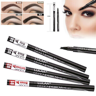 Microblading Eyebrow 4 Têtes Tatouage Crayon À Sourcils Imperméable Stylo Pencil
