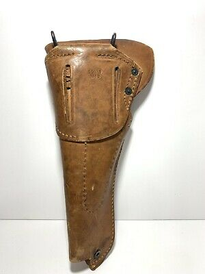 WWII US Army M1916 Leather Holster Colt .45 acp M1911A1 - Sears 1942 - Modified