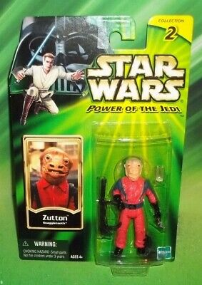 Star Wars Potj Series Zutton Snaggletooth Cantina Alien Figure