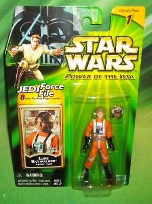 Star Wars Potj Series Rebel X-Wing Pilot Luke Skywalker Figure