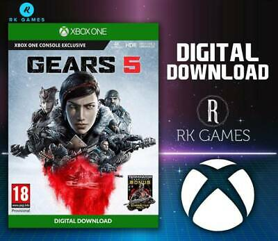 Gears 5 Xbox One (Download/Read Description before buying)