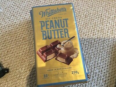 New Zealand Chocolate 250g Peanut Butter 33 Cocoa