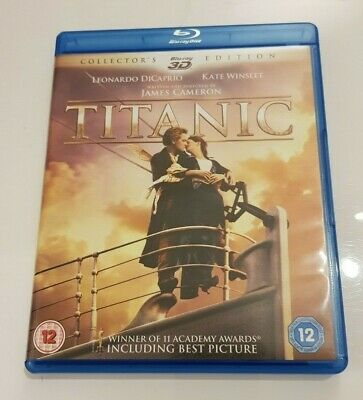 Titanic 3D blu ray Collector's Edition
