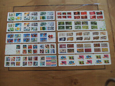 Lot France Euro Sous Faciale 10 Carnets Prioritaire 122 Timbres