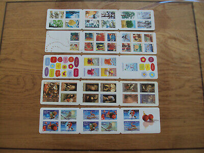Lot France Euro Sous Faciale 5 Carnets Prioritaire 51 Timbres