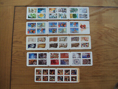 Lot France Euro Sous Faciale 5 Carnets Prioritaire 58 Timbres