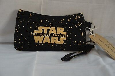 Star Wars A Force Awakens Pencil Case With Detachable Strap Handcrafted New