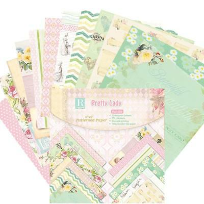 24PCS Scrapbooking Paper Handmade DIY Photo Album Background Craft Card Making