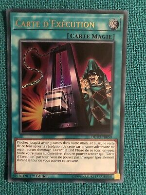 Carte Yu Gi Oh FR Carte D'execution dupo-fr050 Ultra Rare Edition 1