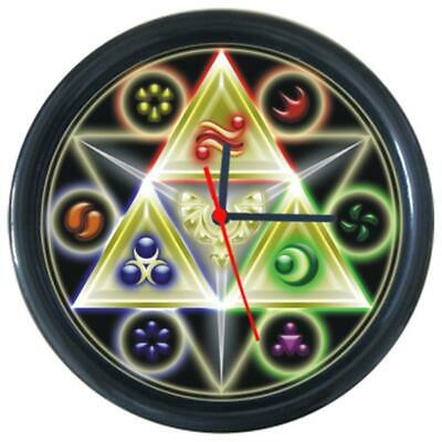 Hot Cartoon Logo Legend Of Zelda Comic Design Anime Wall Clock Cool