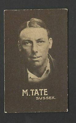 """Australian Licorice - English Cricketers (""""18 In Set"""") - M Tate, Sussex"""
