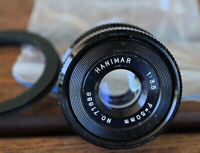 HANIMAR HANIMEX 50mm f3.5 Enlarging lens - M39 thread mount