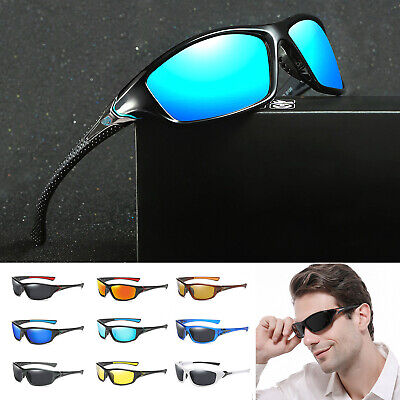 Polarized Cycling Sunglasses Men's Outdoor Sports Running Driving Shades Glasses