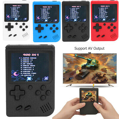 Retro Mini Handheld Video Game Console Gameboy Built-in 400 Classic Game Gift UK