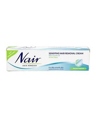 Nair Sensitive Hair Removal Cream 80ml For All Hair Types Ladies Body Care