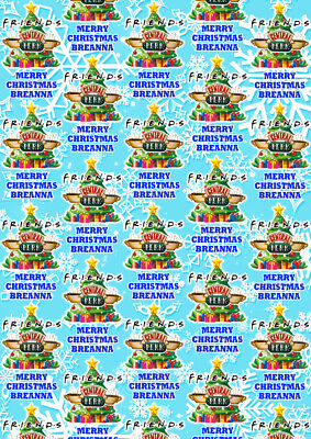 INBETWEENERS wrapping paper ooh friends Gift Wrap CHRISTMAS Wrapping Paper
