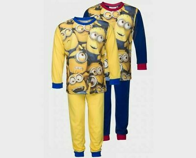 Childrens/Kids Boys/Girls Despicable Me/Minions Pyjamas PJs Age 4-12 Years