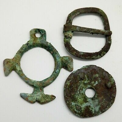 Bronze Amulet / Griffin  / Zoomorphic / Buckle  Decoration 800AD. Viking Pendant