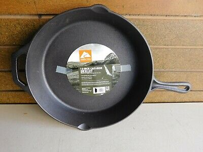 "12"" Cast Iron Frying Pan..skillet.... Brand New"