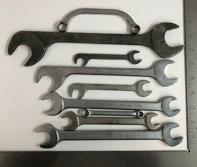 Lot of 9 Vintage PROTO Assorted Wrench Set SAE Made in USA