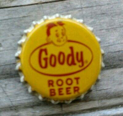 1950's Goody Root Beer SODA Cork- Lined  BOTTLE CAP SC232 UNUSED