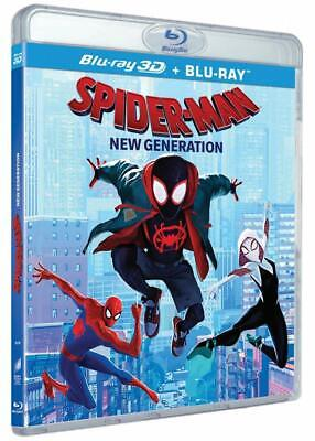 Spider-Man  New Generation  Blu-Ray 3D + Blu-Ray  Coffret  Neuf Sous Blister