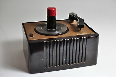Vintage RCA Victor 45-EY 2  RPM Record Player -Untested AS IS