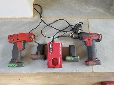snap on impact gun and cordless drill