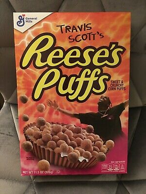 Travis Scott X Reeses Puffs Cereal | Limited Edition