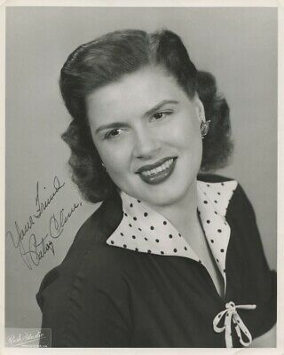Autographed Patsy Cline Black & White 8x10 Glossy Photo Print