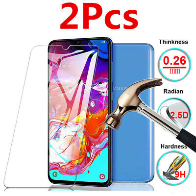 2Pcs For Samsung Galaxy Series 9H Phone Tempered Glass Screen Protector Saver