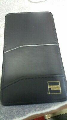 American Express Black Credit Card single  pane Diner's Check Folder-NIB