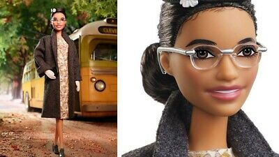 Rosa Parks Barbie Doll Inspiring Women Collection 2019