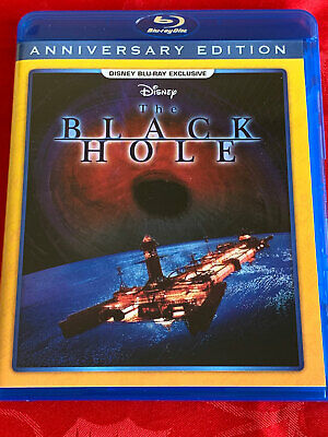 Disney THE BLACK HOLE BLU RAY 40th Anniversary Edition NEW! SEALED Import