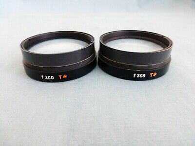 ZEISS OPMI F200 T* AND F300 T* 48mm OBJECTIVE LENS