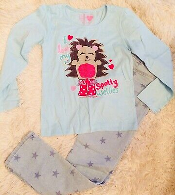 Girls Jeans And Top Combo Age 7-8 Years
