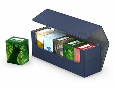 Ultimate Guard Flip Case Archive 400+ Xenoskin Blue Card Box Deck Boxing