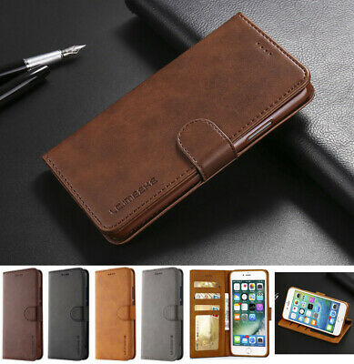 Case for Samsung Galaxy S10 5G S10+ S9 S8 Plus Cover Flip Wallet Leather Magntic