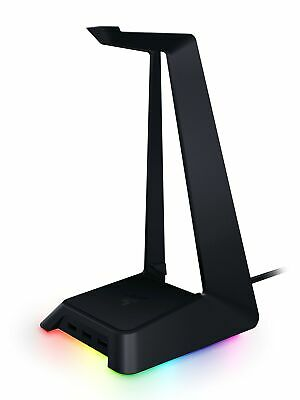 Razer Base Station Chroma Headphone/Headset Stand w/USB Hub, RGB Illuminated