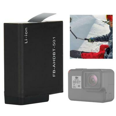 Black FB-DC-AHDBT 501 Sport Camera Battery Dual Slot Charger for GoPro Hero5/6/7