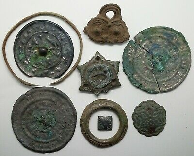 Bronze Zoomorphic Mirror / Decoration / Bracelet / Pendant / Ring Viking