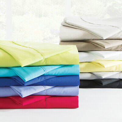 New Aspire Plain Dye 250 Thread Count Sheet Set