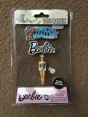Brand New Worlds Smallest Barbie 1959 Collectable Rare Item 517 American Bintage